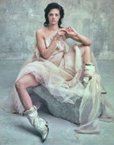 Bettina Reims, serie 'Héroïnes', 'Asia Argento, Polaroid No 1, Février 2005, Paris'