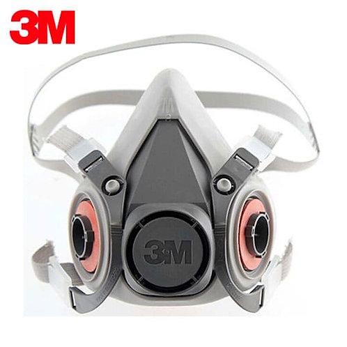 Respirador 3M 6200 + Filtros P100 99,99% de las partículas