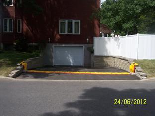 Protección acceso vehicular