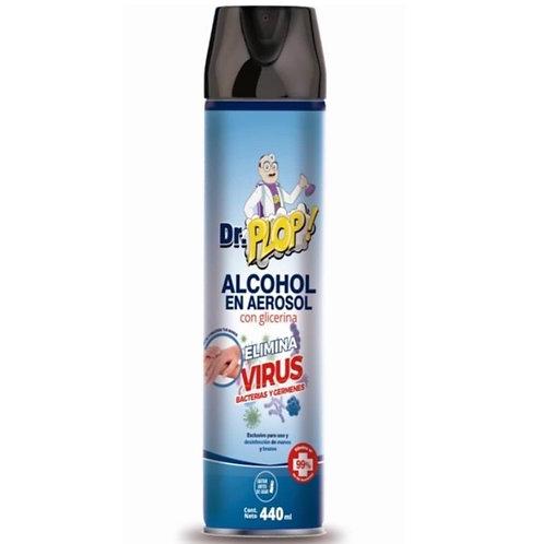Alcohol en Aerosol con Glicerina - Elimina 99,99% de Virus y Bacterias
