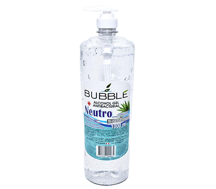 Bubble - Alcohol Gel 1lt sin Triclosán