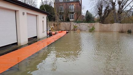 Water-Gate protección de inundación