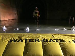 Water-Gate y túnel de aducción