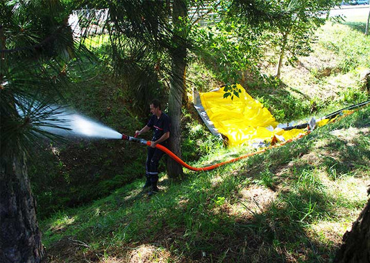 Reservas de agua para incendios
