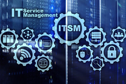 ITSM. IT Service Management. Concept fo