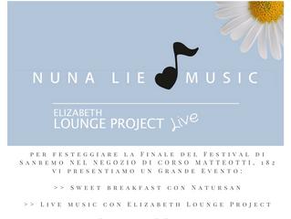 A Sanremo con Nuna Lie!