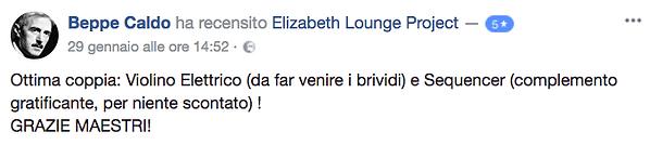 Recensione Elizabeth Lounge Project