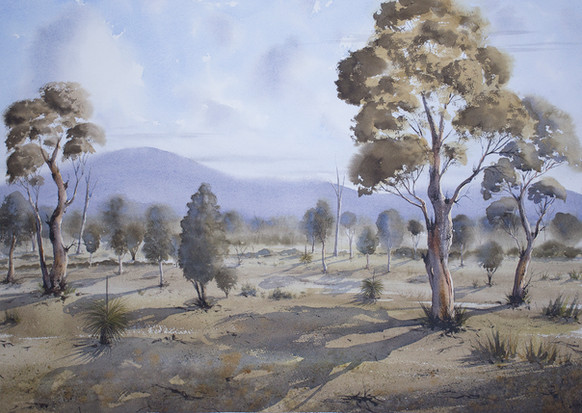 West of Grafton50cm x 70cm. SOLD
