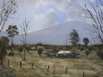 Near Bellingen 30cm x 40cm. SOLD