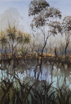 Mataranka Springs, NT, 20cm x 29cm. Available