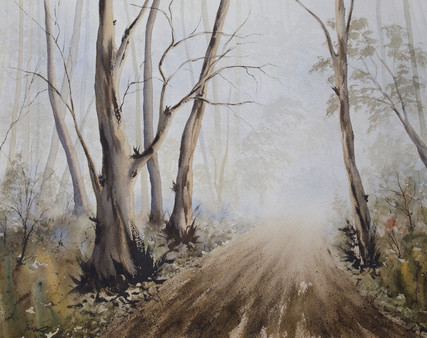 Misty Road 40cm x 50cm. Available