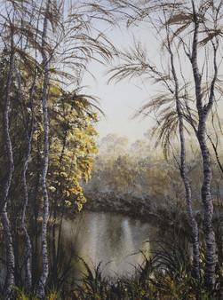 Moonee Creek 50cm x 70cm. SOLD