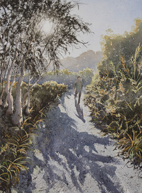 Tallow Estuary Trail 30cm x 40cm. Available