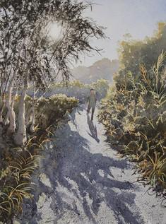Tallow Estuary Trail 30cm x 40cm. Available