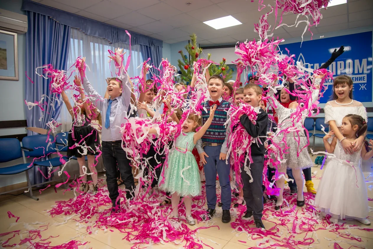 Бумажное шоу на детский праздник в Воронеже!