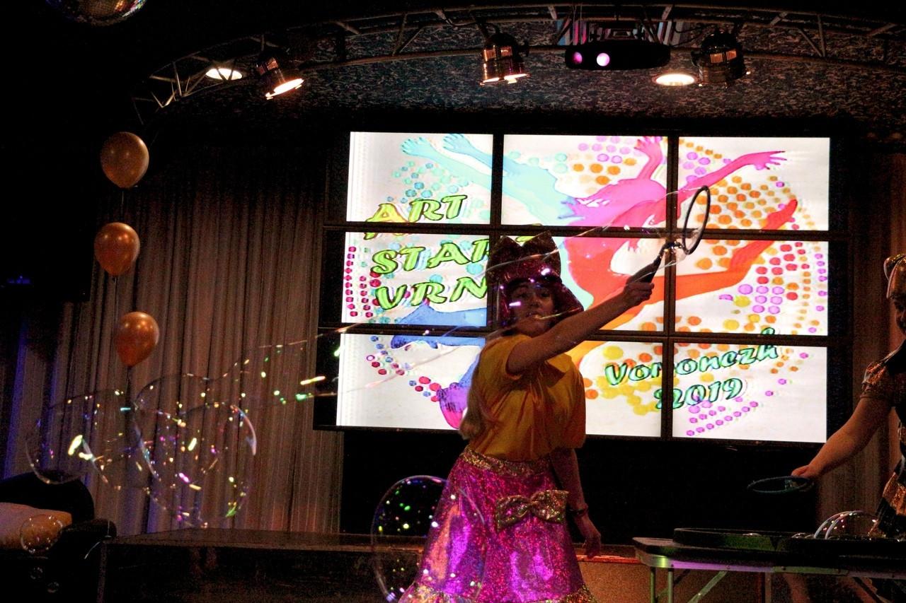 Шоу мыльных пузырей в Воронеже!