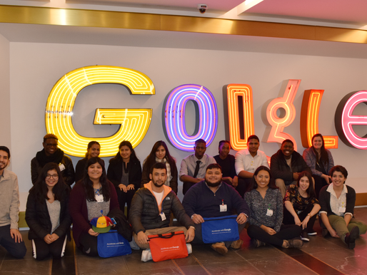 Google Helps First-Gen Students Build a Network!