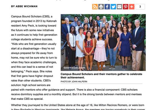 Bedford Magazine Features CBS