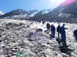 Trainees Heading Towards Camp 1.JPG