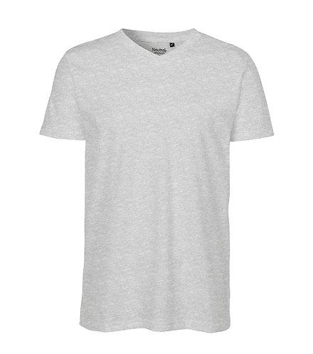 V-Neck T-shirt Fairtrade Herr