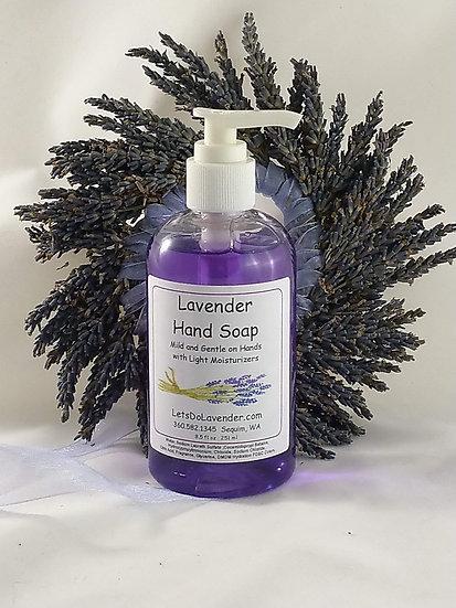 Lavender Liquid Hand Soap
