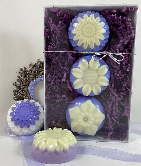 Lavender Flower Collection Shea Butter Soap