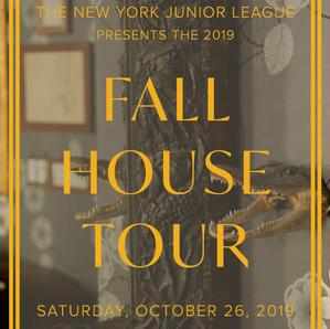 New York Junior League Fall House Tour