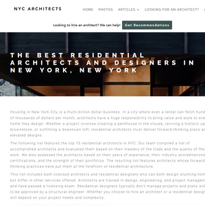 NYC Architects