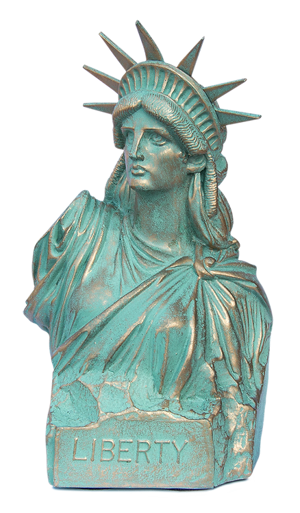 Liberty Bust - Height 7""