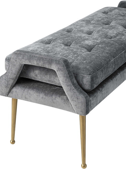 Tailored Grey Bench