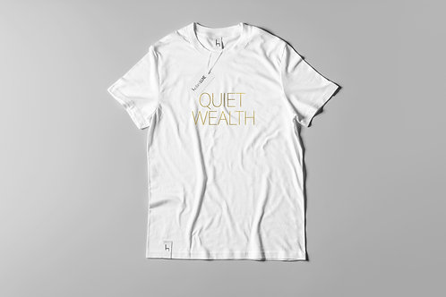 QUIET WEALTH SHIRT GOLD-