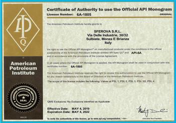API 6A Monogram Certificate 6A-1085 .jpg