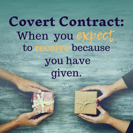 Do You Have Covert Contracts Pending?