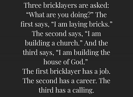 Are You Laying Bricks to Live the Life You Want?