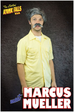 Woody Shticks as Marcus Mueller