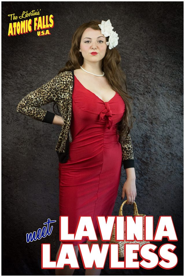 Kiki Penoyer as Lavinia Lawless