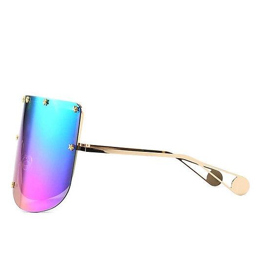 Eliza Oversized Women's Sunglasses - Rainbow