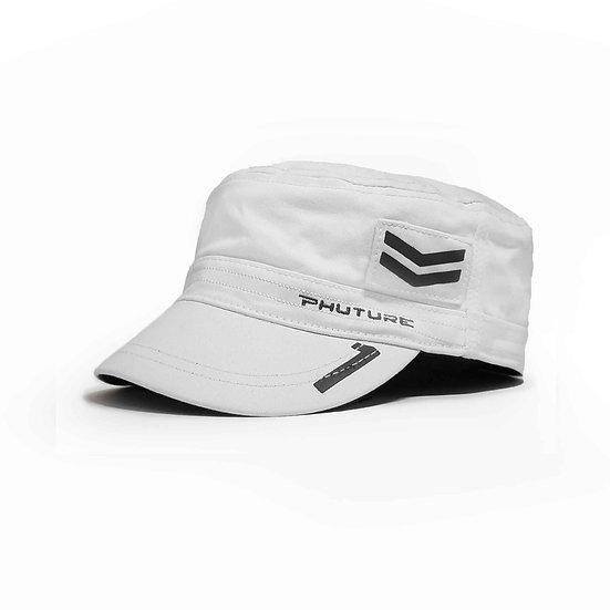 Mach 1 Hero Glacier White Military Style Cap