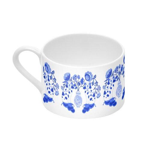 Coffee Cup & Saucer #4