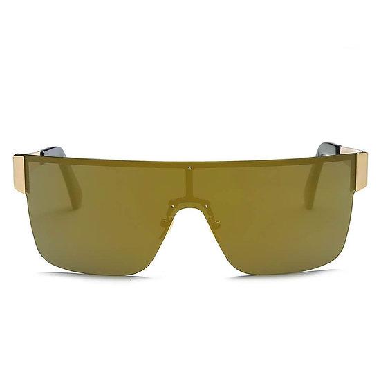CHARENTON OLIVE | S2031 - Women Oversized Square Wraparound Sports Sunglasses