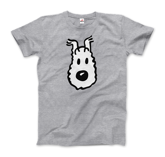 Mens' Snowy (Milou), Wire Fox Terrier From Tintin T-Shirt