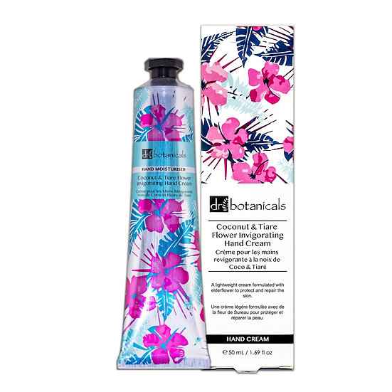 Women's Coconut and Tiare Flower Invigorating Hand Cream 50ml