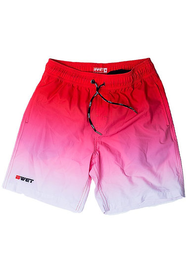 """Eco-Friendly Quick Dry UV Protection Perfect Fit RED Beach Shorts """"Su"""
