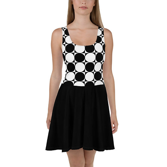 éanè SEAMLESSGEO4 - Skater Dress