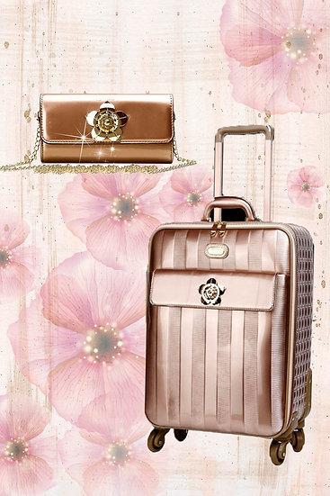 Floral Accent 3PC Set | Travel Bag Deal for Women Signature Set