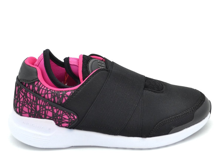 Women's COLMAR Black/Pink Trainers