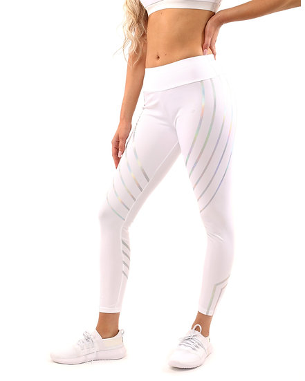 Women's Laguna Activewear Leggings - White