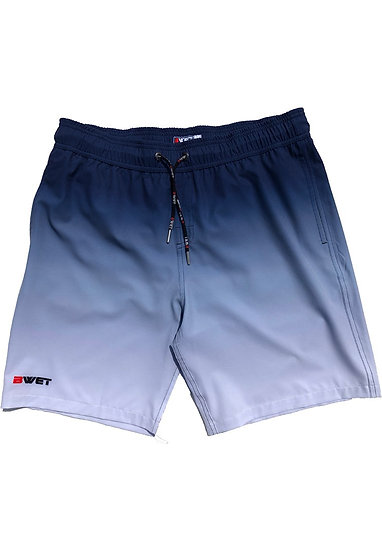 "Eco-Friendly Quick Dry UV Protection Perfect Fit NAVY Beach Shorts ""Su"