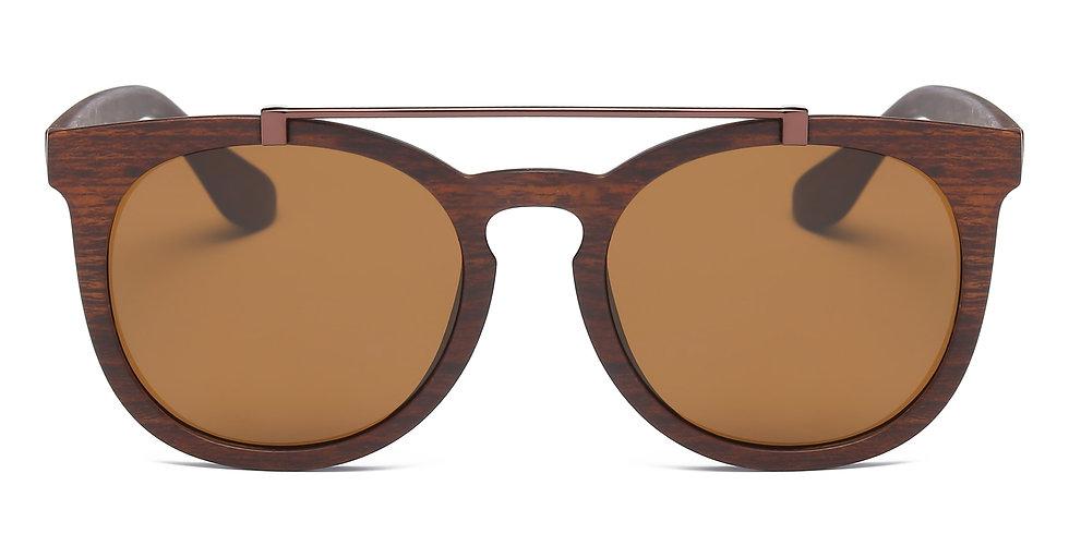 Akcessoryz Vera Sunglasses - Brown