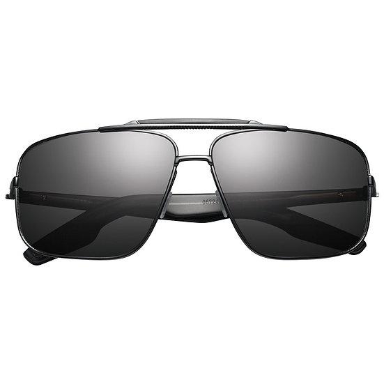 Men's IVI Vision Custer: Matte Black / Grey Lens